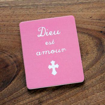 """Planche """"Dieu est amour"""""""