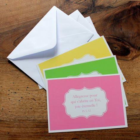Cartes postales « étiquettes »