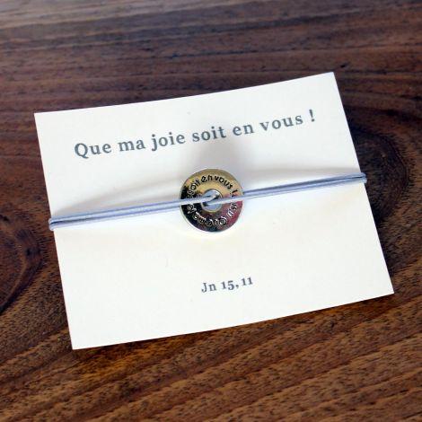 Bracelets « Que ma joie... »